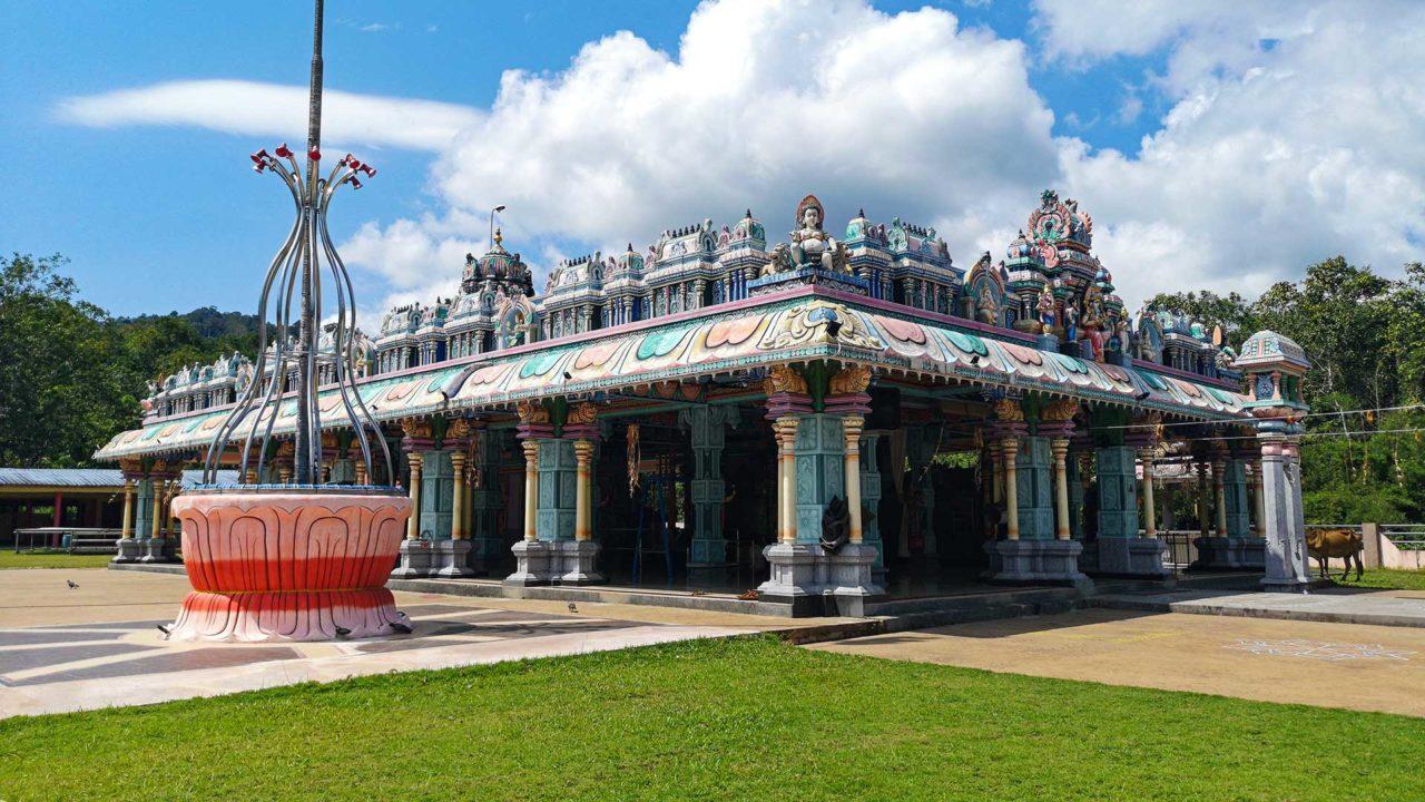 Der Sri Maha Mariamman Devasthanam, einer der hinduistischen Tempel von Langkawi