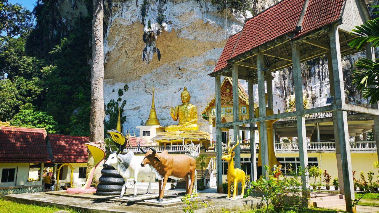 Der Wat Tham Kisap, einer der buddhistischen Tempel Langkawis