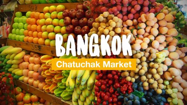 Low-priced shopping while traveling - the Chatuchak Market in Bangkok