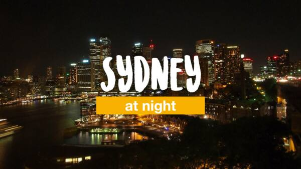 Amazing Sydney at night
