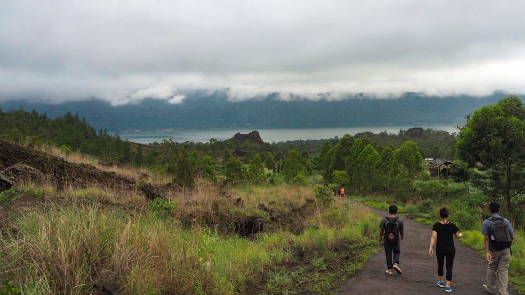 Hike from Mount Batur on Bali