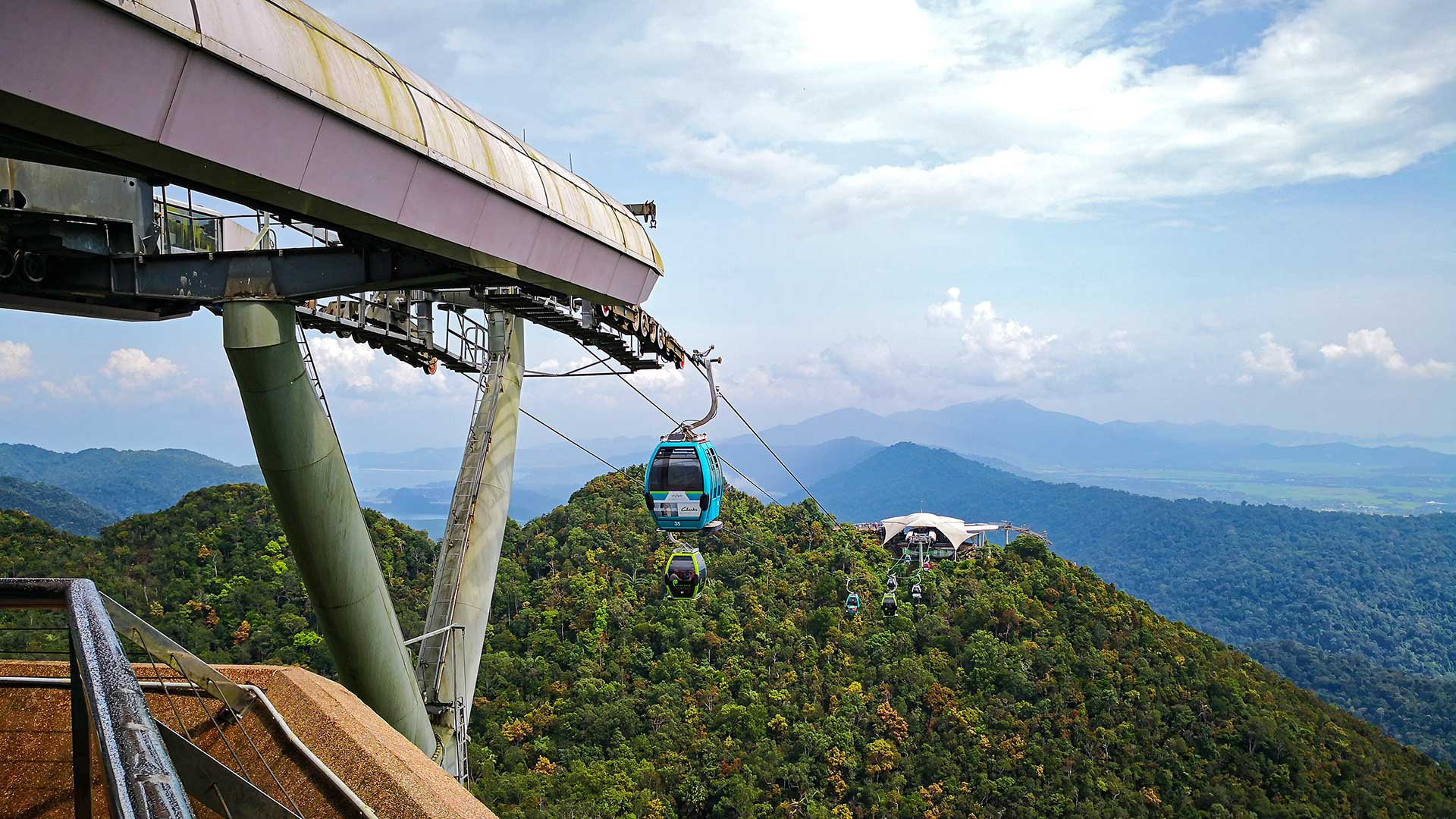 Langkawi Skybridge cable car