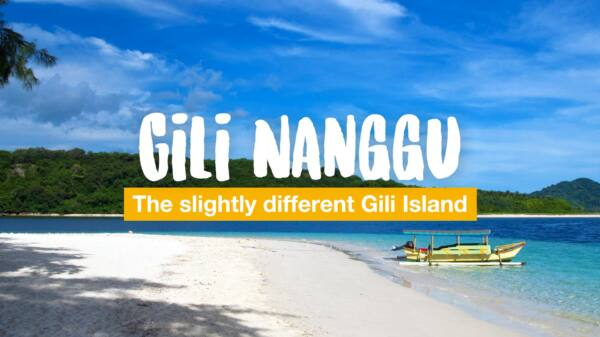 Gili Nanggu - the slightly different Gili Island