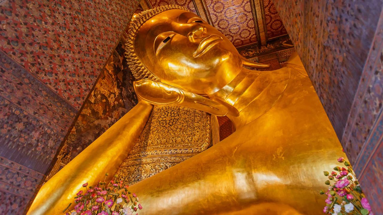 The Reclining Buddha in Bangkok's Wat Pho