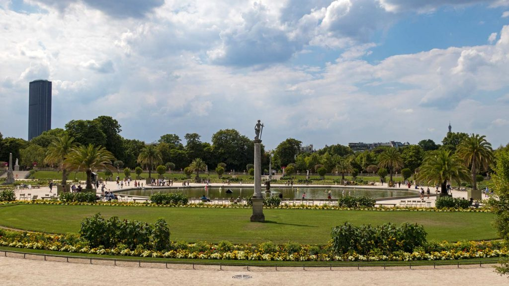 Der Jardin du Luxembourg in Paris