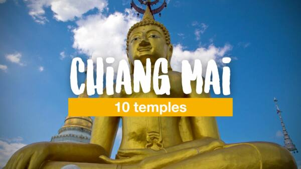 10 temples that you should not miss in Chiang Mai