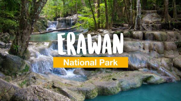 One day in the Erawan National Park