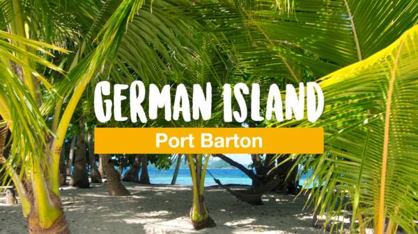 German Island – die Paradiesinsel vor Port Barton