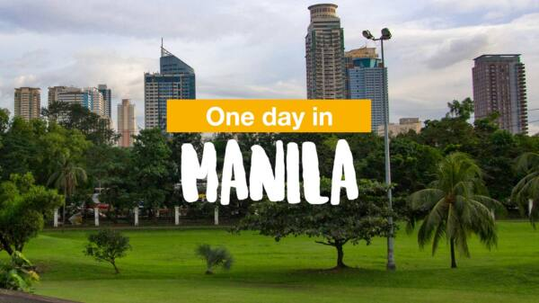 One day in Manila