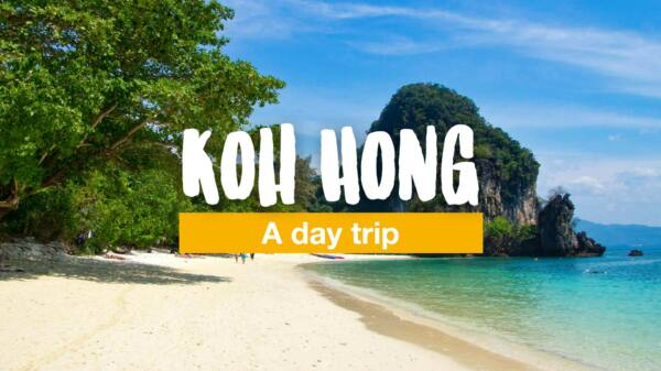 Koh Hong - a day trip to one of Krabi's islands