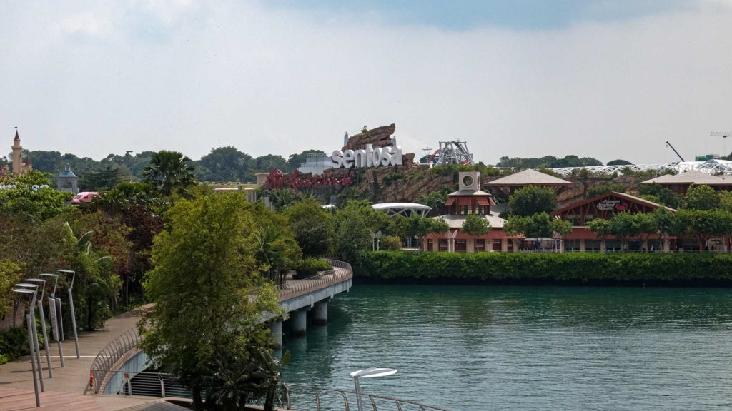 Die Sentosa Resort World in Singapur