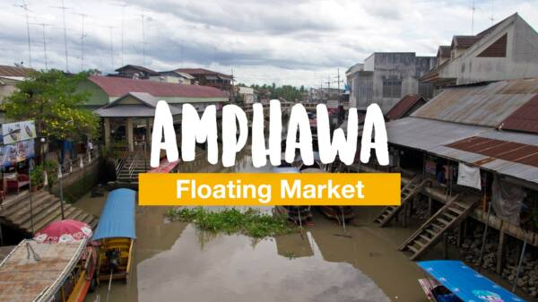 A visit to the Amphawa Floating Market