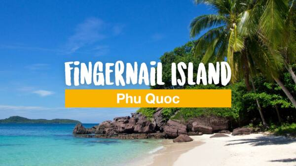 Fingernail Island south of Phu Quoc