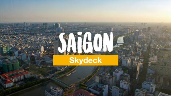 Das Saigon Skydeck auf dem Bitexco Financial Tower