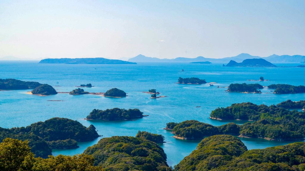 Kujuku Islands (99 Islands) vor Nagasaki, Süd-Japan