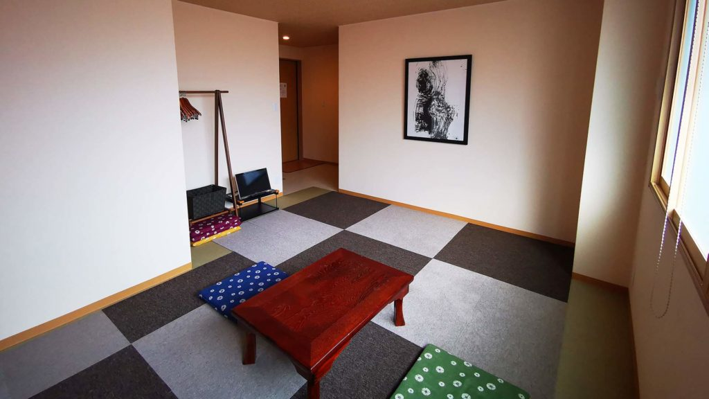 Our room in traditional Japanese style, Seibido Inn