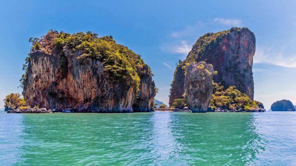 Aussicht auf Khao Phing Kan, James Bond Island