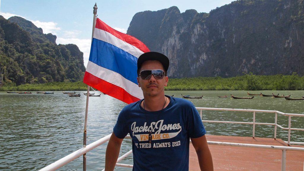 Marcel auf der James Bond Island Tour von Phuket