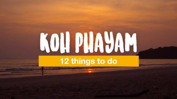 12 things to do on Koh Phayam
