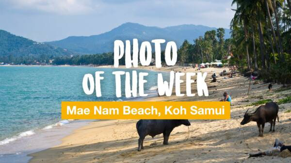 Photo of the week: Mae Nam Beach, Koh Samui