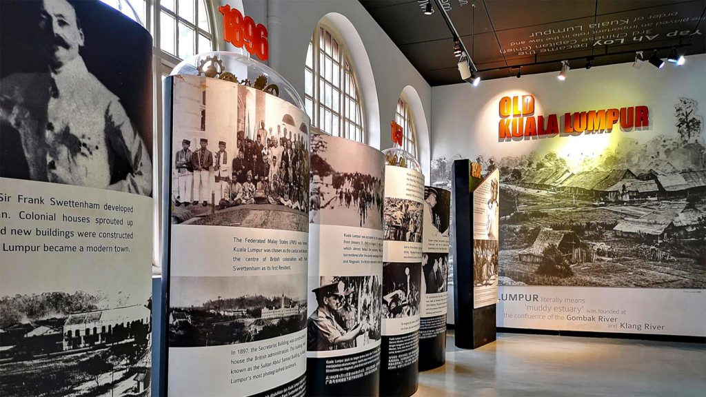 Exhibition on the old Kuala Lumpur in the KL City Gallery