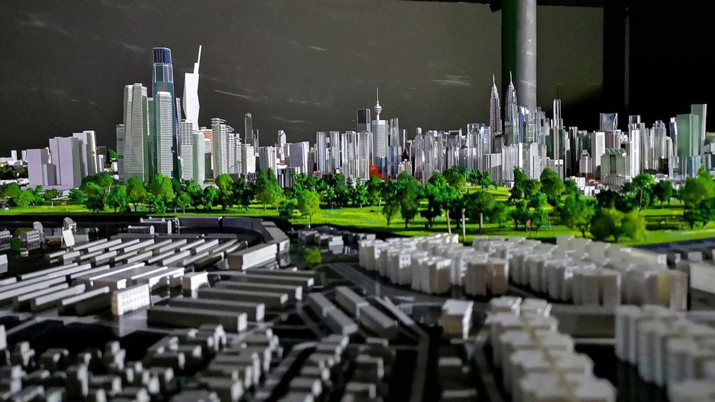 Exhibition on the future version of Kuala Lumpur, KL City Gallery