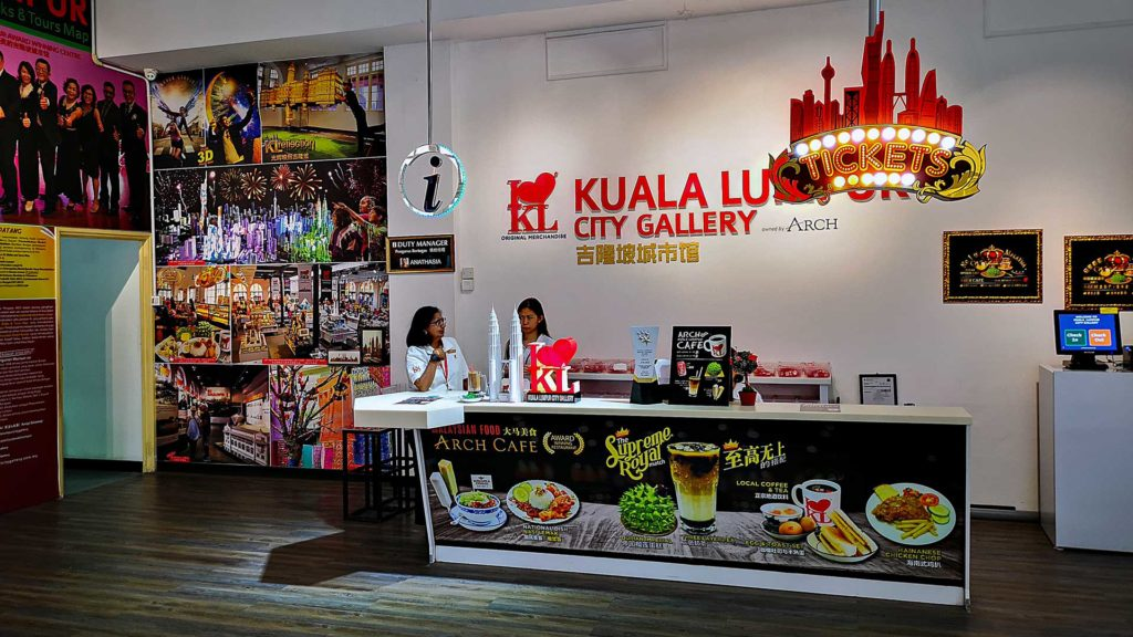 Tickets for the KL City Gallery in Kuala Lumpur