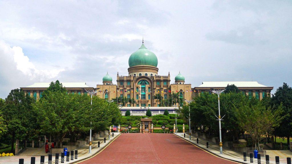 Das Perdana Putra, das Büro des malaysischen Premierminister in Putrajaya