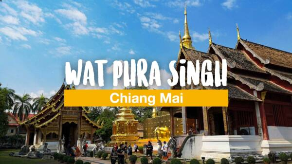 Fortune cookies in a different way - a visit to Wat Phra Singh
