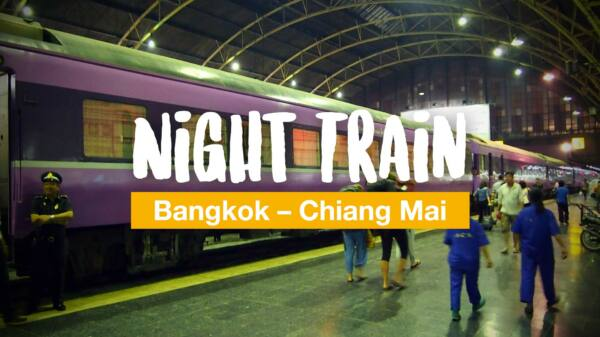 From Bangkok to Chiang Mai by night train