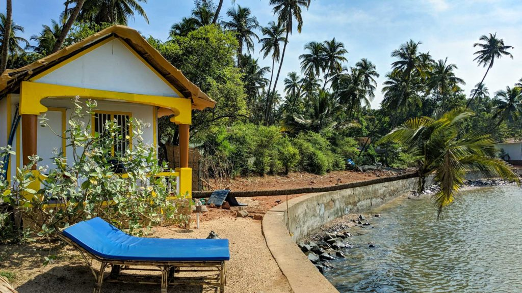 Our bungalow by the sea, South Goa