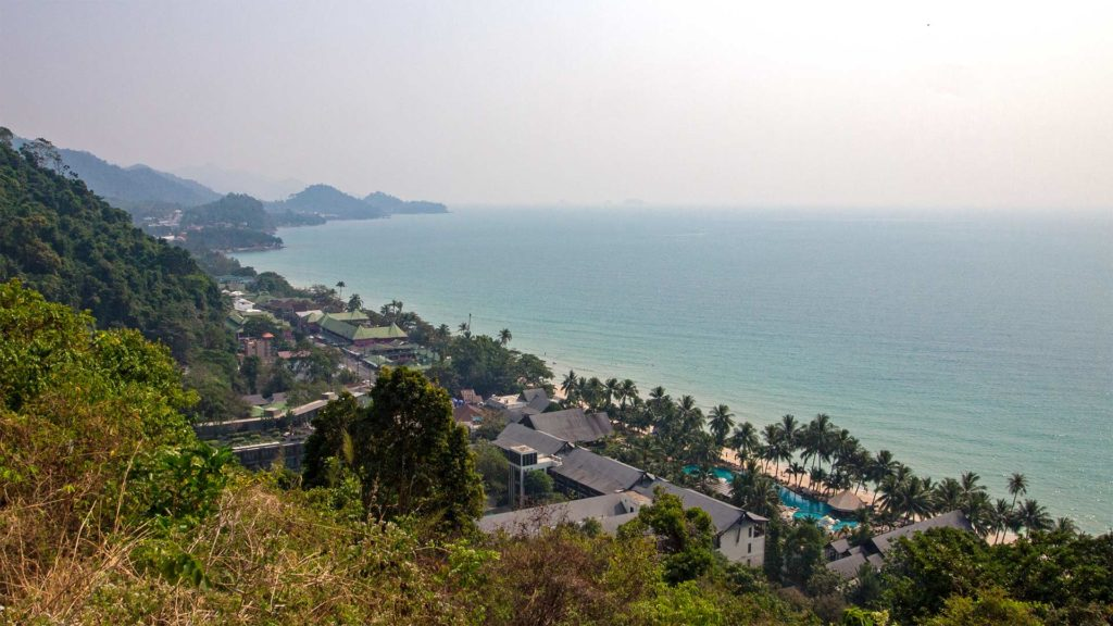 View at the White Sand Beach, Koh Chang