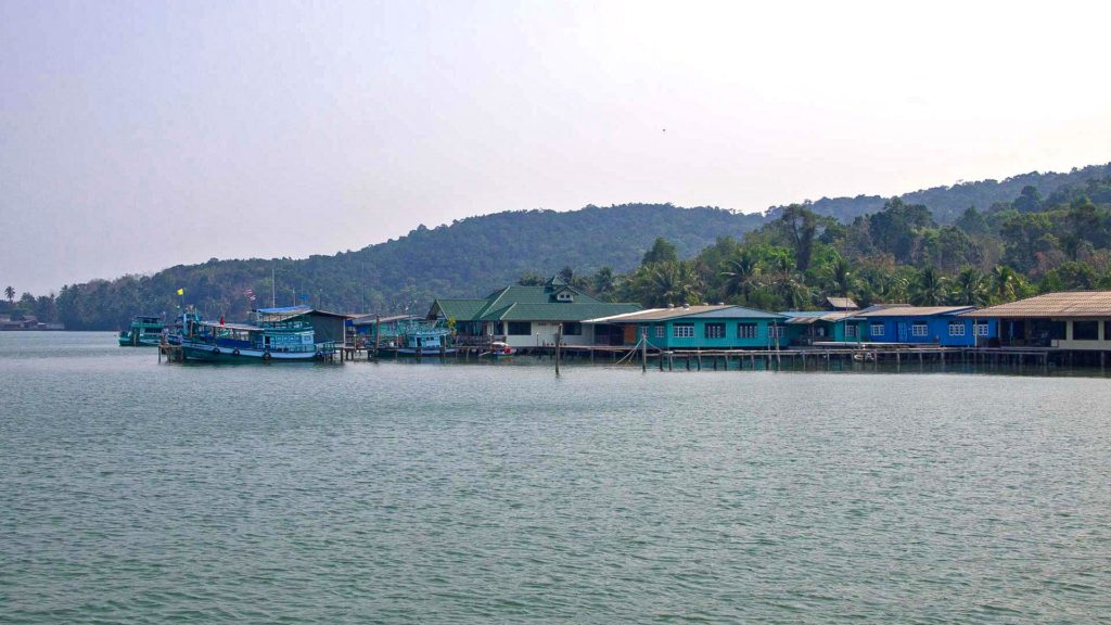 Baan Salak Phet - fishing village in the southeast of Koh Chang