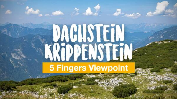 Dachstein Krippenstein - 5 Fingers Viewpoint