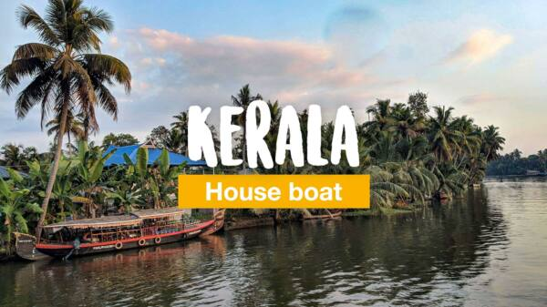 Kerala Backwaters - with the houseboat through the canals