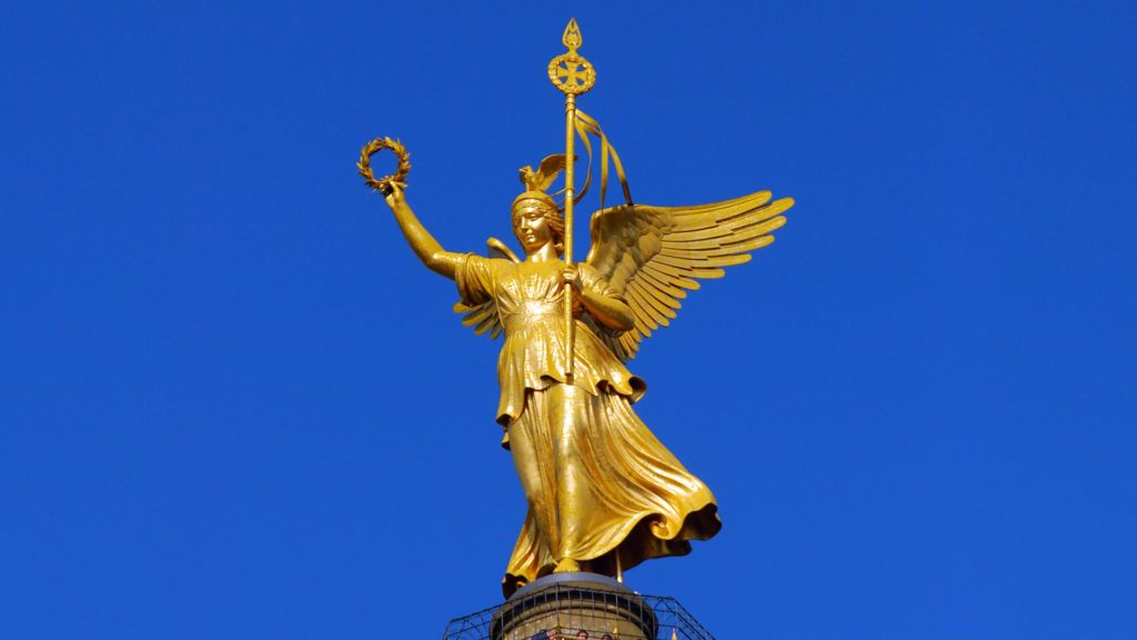 The top of the Berlin Victory Column - also called Goldelse