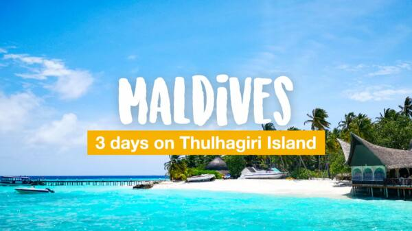 Maldives: 3 days on Thulhagiri Island