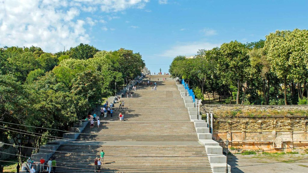 The Potemkin Stairs in Odessa