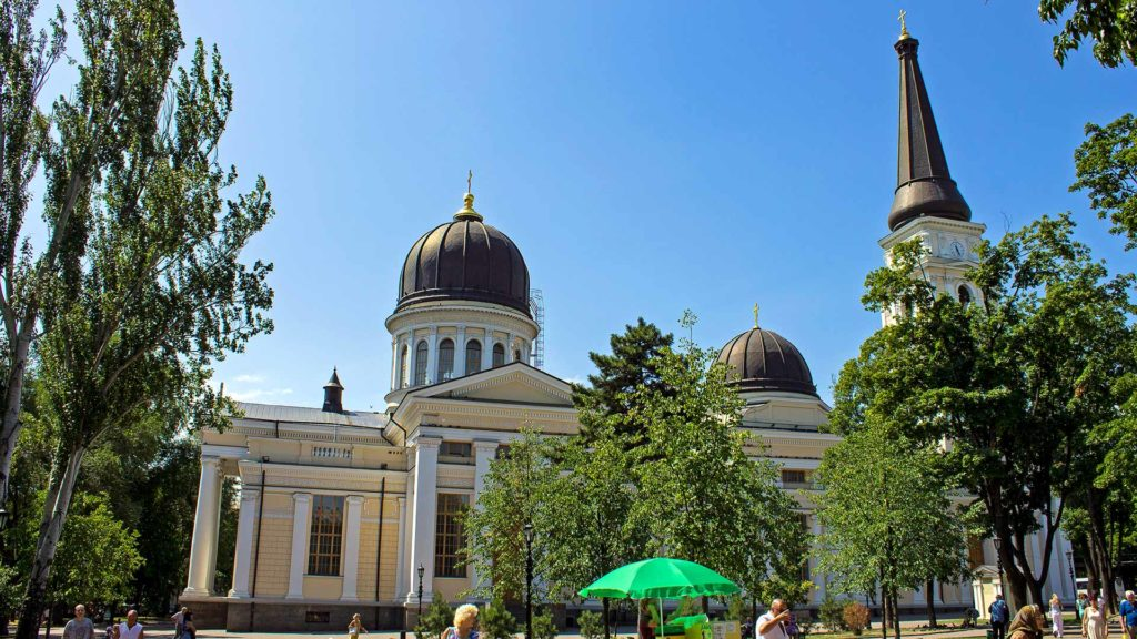 The Transfiguration Cathedral in Odessa