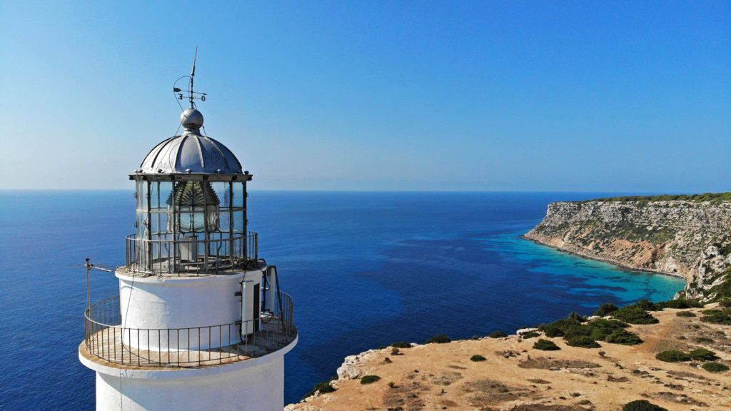 The Far de la Mola lighthouse on Formentera