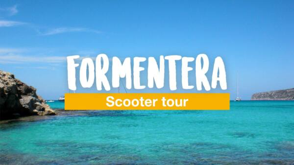 A day trip to Formentera - a scooter tour around the island