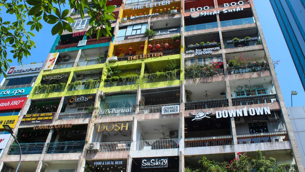 The Cafe Apartments in Ho Chi Minh City (Saigon)