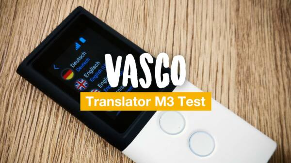 Vasco Translator M3 Test