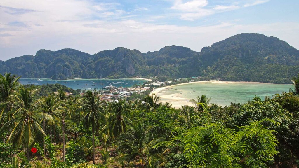 Aussicht vom Koh Phi Phi Viewpoint