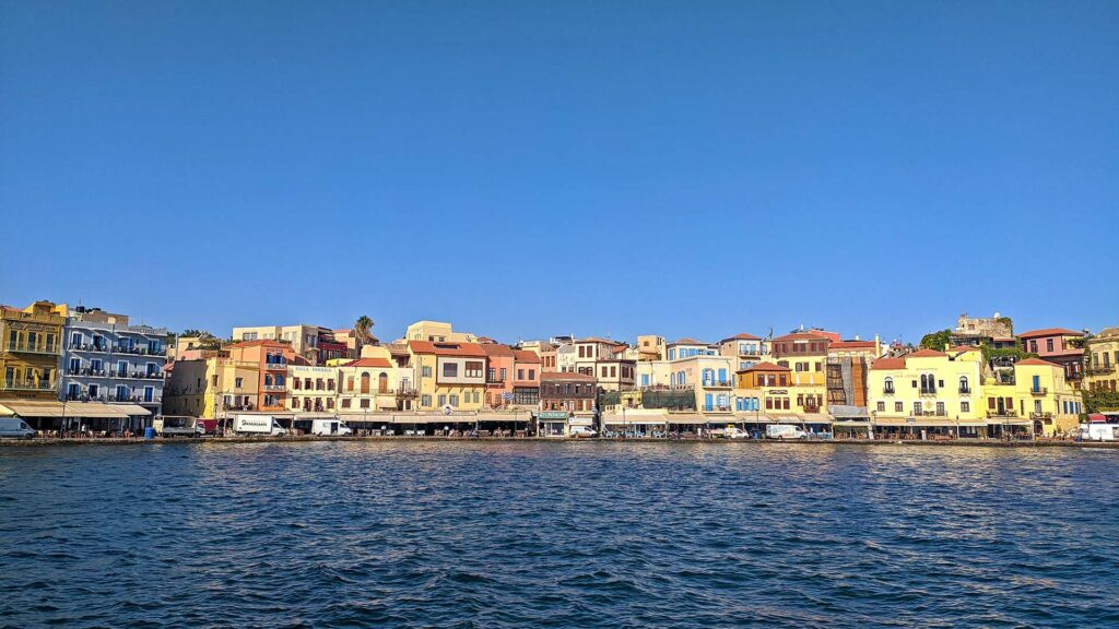 Die hübsche Altstadt von Chania auf Kreta